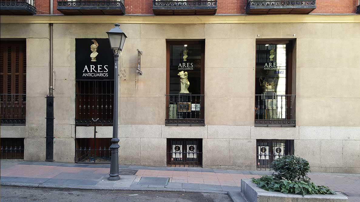 Barrio de Salamanca. Anticuarios Madrid.